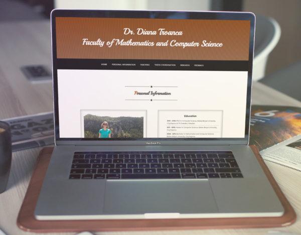 Site Lector Dr. Troancă Diana