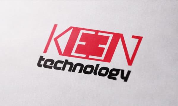 """Logo """"Keen Technology"""""""