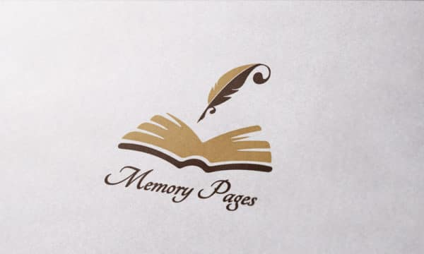 """Logo """"Memory Pages"""""""