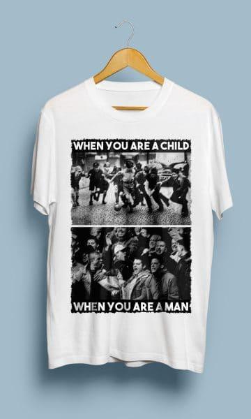 "Tricou ""CHILD vs MAN"""