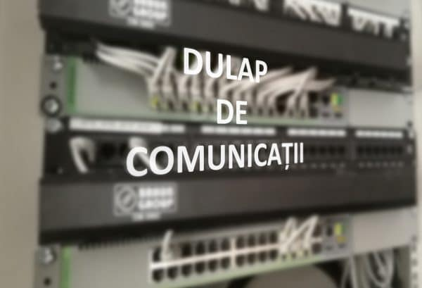 Dulap de comunicatii